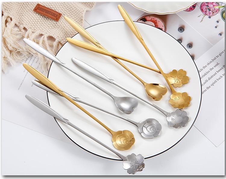 Flower Shape Spoon