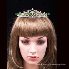 Tiara de la boda corona de la princesa rhinestone tiara