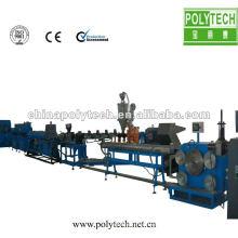 Ahorro de agua con incrustaciones Continuar tipo de tira Línea de producción de cinta de riego por goteo / máquina
