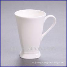 P & T porcelaine usine pieds carrés mode porcelaine tasse de café