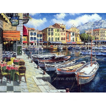 Peinture méditerranéenne décorative mur moderne