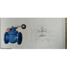 floating ball valve for control water