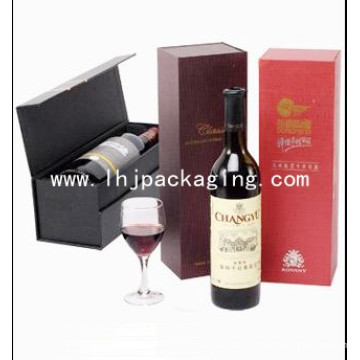 Red Wine Packaging Box with EVA Foam