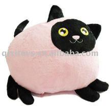 coussin de chat en peluche mignon, animal en peluche et peluche