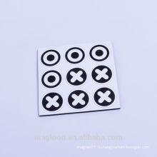 Эффектные метки печать круглый EVA мягкие магнитные наклейки холодильник для рекламного использования