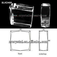 K9 Пустой кристалл для 3D лазерная гравировка