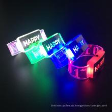 Geburtstagsparty Dekorationen 2017 blinkendes Armband