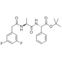 (2S)-N-[N-(3,5-Difluorophenacetyl)-L-alanyl]-2-phenylglycine tert-butyl ester CAS 208255-80-5