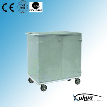 Chariot de stérilisation médicale pour hôpitaux en acier inoxydable (Q-30)