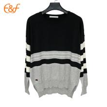 Ladies Western Style Knitted Split Hem Sweater Female Beautiful Sweaters