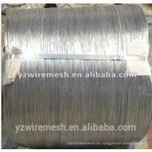 China Galfan WIre / alambre de aleación de zinc de alambre proveedor