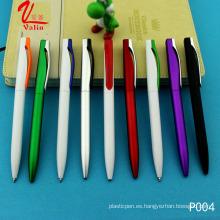 Precio barato Clik bolígrafo bolígrafo de plástico en venta