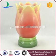 Großhandel dekorative Vase mit Blumendekor chinesischen Keramik Vase