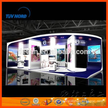 Customized durable shell scheme booth display exhibition stands