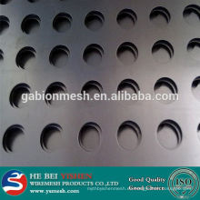 Hoja perforada del acero inoxidable / hoja perforada en el acoplamiento de alambre de acero para la venta caliente !!!