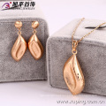 62464-Xuping Gold Jewelry Set 18K Gold Plated Jewelry Promotion