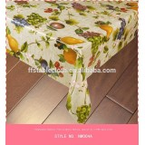 Normal PVC Printed Table Cloth 100% plastic(NW004~ NW004D )