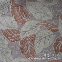 Jacquard Chenille Tissu d'ameublement teint en fil de neige