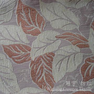 Jacquard Chenille Snow Yarn Tejido de tapicería teñido