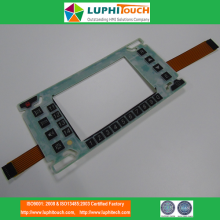 LEONARDO Aerospace Defense Device Gummi Tastatur PCB Switch