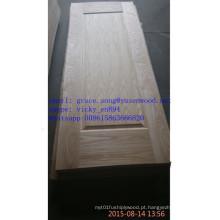 Pele de madeira do folheado da porta de 3.2mm * 670/760/870/920/1050 / * 2100 / 2150mm HDF / MDF