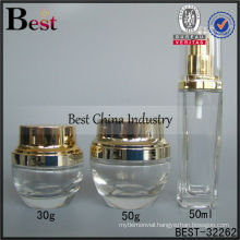 30g,50ml cosmetic bottle and jar sets, empty packaging bottles, skin care cosmetic bottle