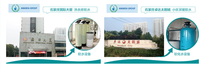 full auto water softener application