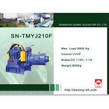 Machine de traction à engrenage pour ascenseur (SN-TMYJ210F)