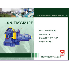 Gear Traction Machine for Elevator (SN-TMYJ210F)