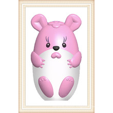 Popular Mouse Shape PVC Lovely USB Flash Drive (EC006)