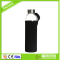 Hot selling new design glass water bottles