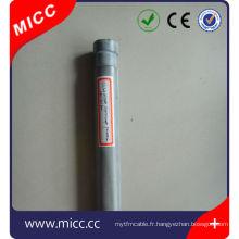 Tube de protection de thermocouple de nitrure de silicium Si3N4