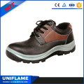 Wholesale Low Ankle Lace up Red Safety Shoes Ufa083
