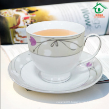 2015 New Products Ceramic Tea Cup With Saucer