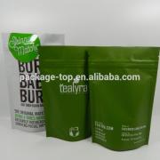 2015 plastic laminated aluminum foil container bag pouch frozen food packaging manufacturer