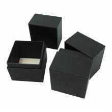 Kundenspezifische schwarze Pappverpackungs-Kosmetikbox