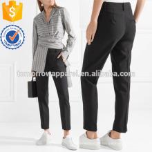 Укороченный шерсти смесь брюки Производство Оптовая продажа женской одежды (TA3030P)