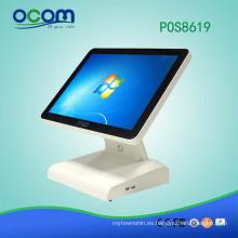 POS8619 15 pulgadas Nueva llegada pos touch sistema de máquina de pedidos para la lotería
