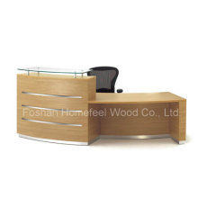Mobilier de bureau de table de réception moderne MFC de 2015 (HF-R006)
