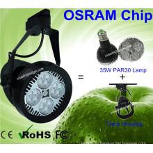 16pcs Osram LED 35W lámpara de PAR30 LED luz de seguimiento