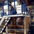 LLDPE horizontal trois couches étirer le film faisant la machine