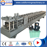 Colored Steel C Channel Roll Forming Machine