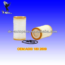 MERCEDES BENZ OIL FILTER KIT A000 180 2609