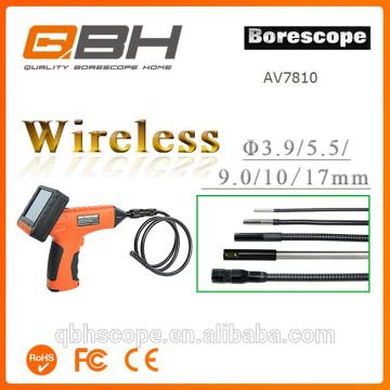 3.5inch monitor flexible pipe inspection camera 9mm lens record photo&video borescope