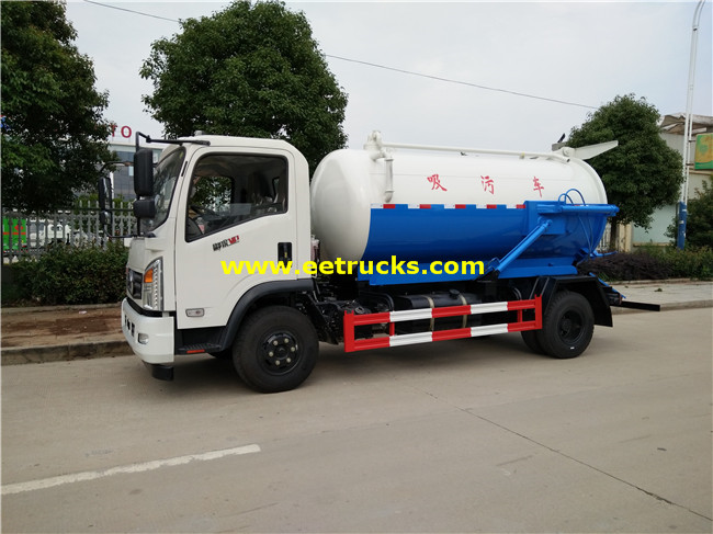 4000L Fecal Suction Trucks