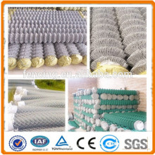 Hot dipped Galvanized Chain Link Fence for zoo/ park