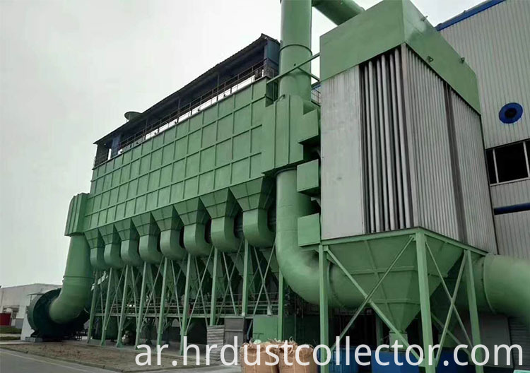 Case Of Bag Type Dust Collector