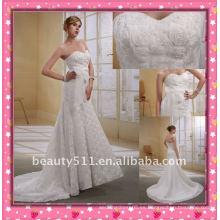 Astergarden más reciente de un hombro de fábrica elegante directamente vender corona como regalo de boda sirena vestido WZS144