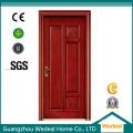 Porte intérieure / extérieure en bois massif avec noyau solide pour les maisons