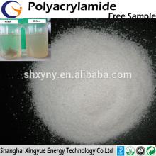 Poudre de polyacrylamide anionique à haut polymère moléculaire élevée pour la déshydratation